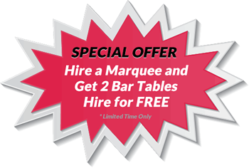 Special Offer on Wedding Marquee Hire, Corporate Event Marquee Hire & Party Marquee Hire
